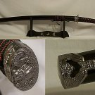 "Katana 40.5"" Classic Red Dragon Samurai Sword"