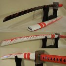 "Splattered Blood 39"" Katana Samurai Sword"