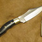 "Damascus 9.25"" Bowie Knife Hunting Camping 8319"