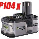 4 PC ★ RYOBI 18V P104 Lithium-Ion Battery ONE+ Powerful - USD 161.00 Free Shipping!