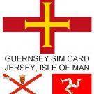 Guernsey SIM Card Sure Cable & Wireless Channel Islands (also works Jersey, IOM)