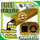 Hydroponic Ultra Grow 600W E-Ballast, Dimmable