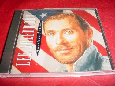 Lee Greenwood Audio CD American Patriot