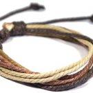 Hemp Cord Surfer Bracelet