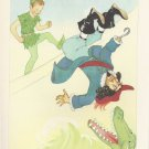 Peter Pan, Vintage Print, Peter Fights Captain Hook