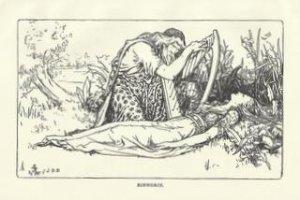 """Binnorie"", Vintage Print, English Fairy Tale Series"