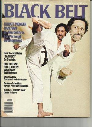 Black Belt Magazine, September 1976, RARE plus FREE SHIPPING!