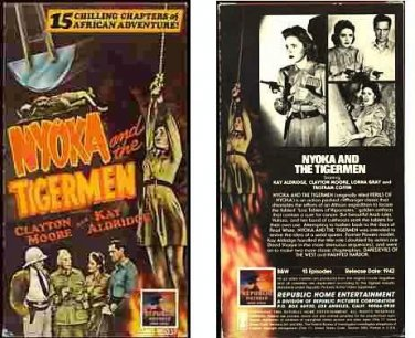 Nyoka and the Tigermen 1942, VHS, Adventure Movie, Classic Film Serial