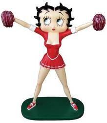 Betty Boop Cheerleader Figure