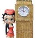 Betty Boop W/Skyscraper Clock Figure