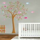 NEW LOOK Kids swirl tree vinyl wall decal with birds