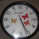 The Basic Butterfly designer clock