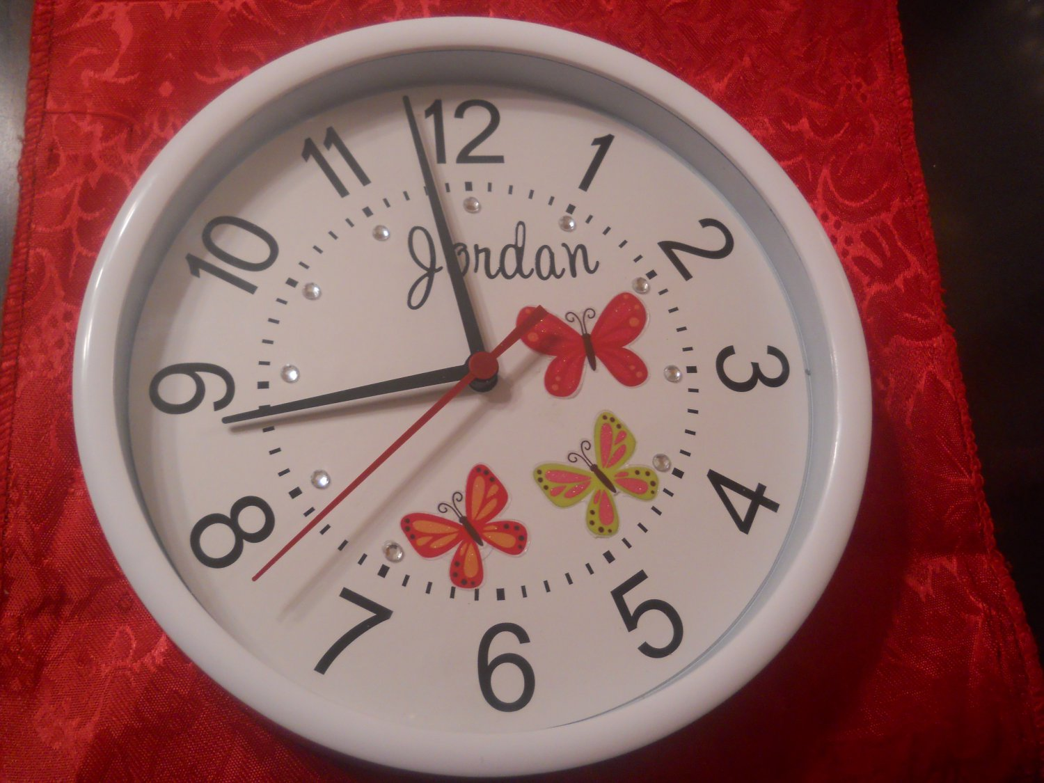 The butterfly designer clock2