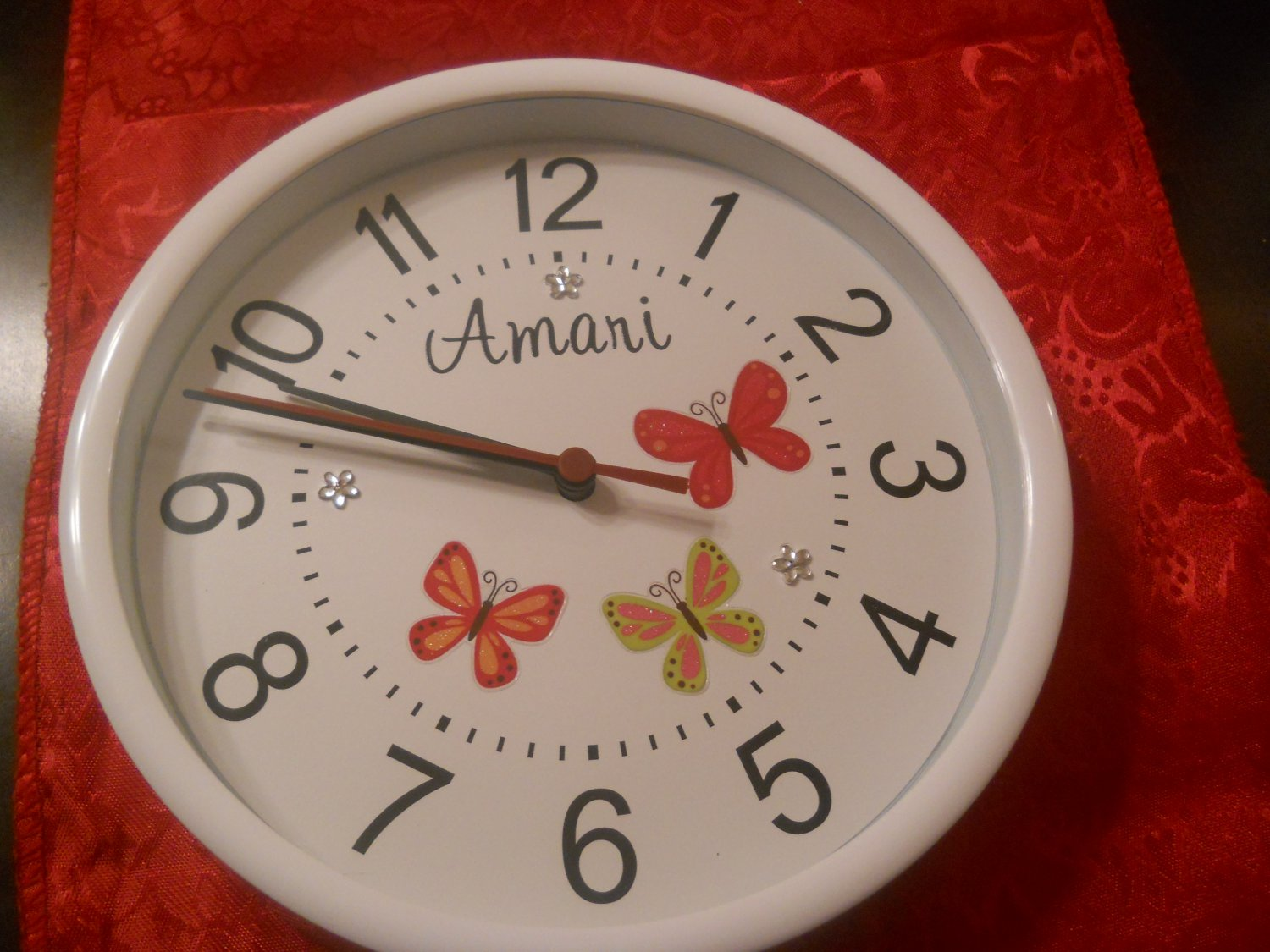 The Butterfly designer clock3
