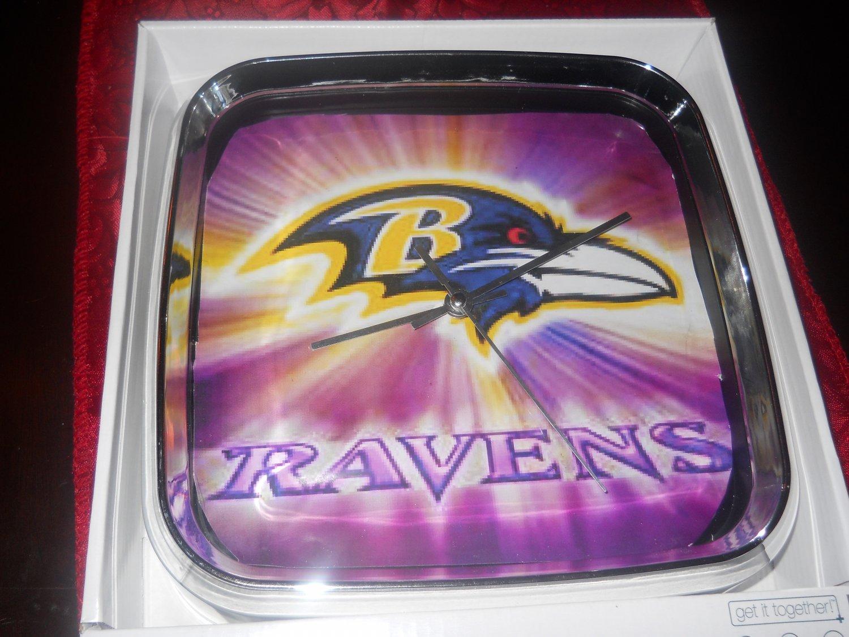 The popular ravens clock