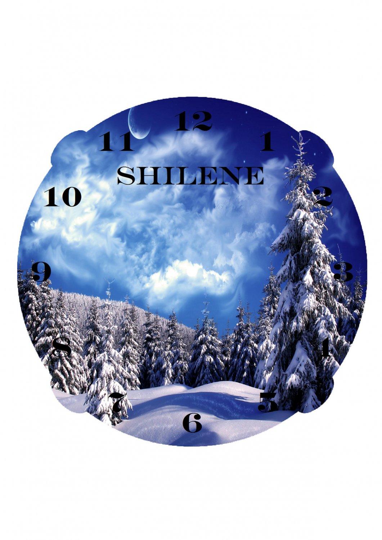 The Winter Wonderland Clock