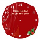 The Happy Holidays Clock