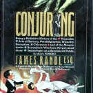 Conjuring Amazing James Randi HC Rare Magic Houdini Blackstone Skeptic