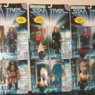 1997 Playmants STAR TREK Figures Case 12 MIP Gorn Seska Sisko Kurn Paris Crusher