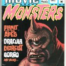 1974 MOVIE MONSTERS Magazines 1 2 3 Godzilla Apes Rodan Batman Exorcist