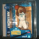 Carmelo Anthony Figure 2007 McFarlane Toys w/ Base MIP Knicks Nuggets