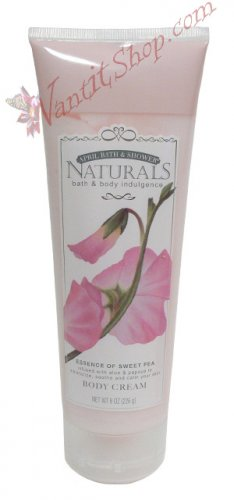Bath & Body Indulgence BODY CREAM Essence of Sweet Pea 8fl oz (226 g)