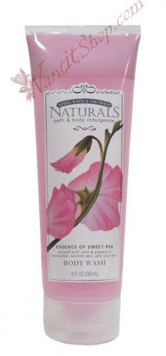 Bath & Body Indulgence BODY WASH Essence of Sweet Pea 8fl oz (236 mL)