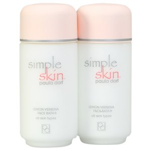 Paula Dorf Simple Skin Lemon Verbena Face Bath all skin types 8 fl oz 236 ml