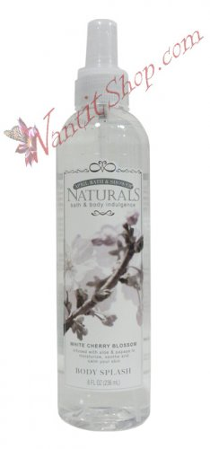 Bath & Body Indulgence BODY SPLASH White Cherry Blossom 8fl oz (236 mL)