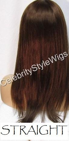 "16"" FULL LACE INDIAN REMY WIG ANY TEXTURE"