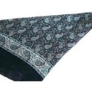 Hand-made Paisley Silk Scarves(India)