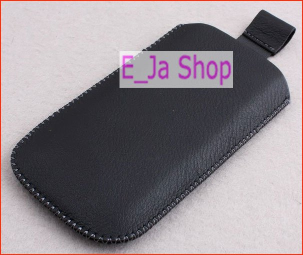 Quality Leather Pouch / Case for Huawei U8800 IDEOS X5
