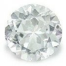 WHITE TOPAZ ROUND CUT GEMSTONE 3mm - FREE SHIPPING