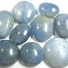 229cts BLUE SAPPHIRE CABOCHONS ROUNDS AND OVALS - FREE SHIPPING