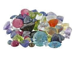 10 PRECIOUS & SEMI-PRECIOUS GEMSTONES MIXED BAG PARCEL - FREE SHIPPING