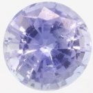 CEYLON BLUE SAPPHIRE ROUND CUT GEMSTONE 3.2mm - FREE SHIPPING