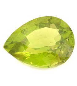PERIDOT PEAR SHAPE GEMSTONE 5x3mm - FREE SHIPPING