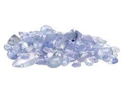 100 BLUE TANZANITE ROUND CUT GEMSTONE PARCEL 1-2mm - FREE SHIPPING