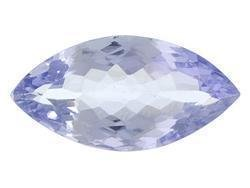 BLUE TANZANITE MARQUISE CUT GEMSTONE 4x2mm - FREE SHIPPING