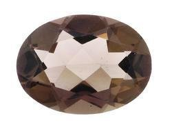 SMOKEY QUARTZ OVAL CUT GEMSTONE 18x12mm - FREE SHIPPING