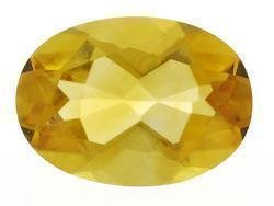 CITRINE OVAL CUT GEMSTONE 8x6mm - FREE SHIPPING