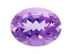 PURPLE AMETHYST OVAL CUT GEMSTONE 8x6mm - FREE SHIPPING