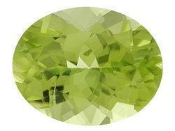 PERIDOT OVAL CUT GEMSTONE 6x4mm - FREE SHIPPING
