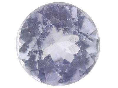 BLUE TANZANITE ROUND CUT GEMSTONE 2.5mm - FREE SHIPPING