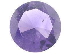PURPLE AMETHYST ROUND CUT GEMSTONE 3mm - FREE SHIPPING