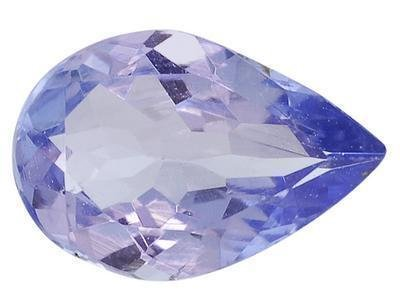 BLUE TANZANITE PEAR SHAPE GEMSTONE 3x2mm - FREE SHIPPING