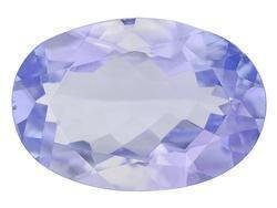 BLUE TANZANITE OVAL CUT GEMSTONE 3.7x3mm - FREE SHIPPING