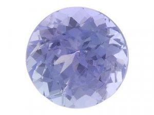 0.21ctw BLUE TANZANITE ROUND CUT GEMSTONES PARCEL - FREE SHIPPING