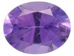 PURPLE AMETHYST OVAL CUT GEMSTONE 6x4mm - FREE SHIPPING
