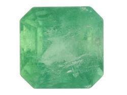 EMERALD SQUARE CUT GEMSTONE 3mm - FREE SHIPPING